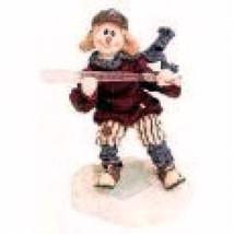 "Boyds Bear-  WeeFolkstone..SnowPeople ""Pee Wee Buntsalot"" #36516- Retired -NIB - $15.99"
