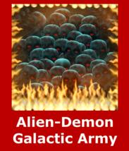 Spr 100,000 Alien Demon Galactic Warriors Power Protection Revenge & Mon... - $159.24