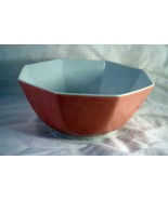 "Fitz & Floyd Rondelet Peach Medium Vegetable Bowl 6 7/8"" - $15.74"