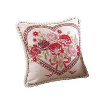 Panda Superstore Elegant and Romantic Heart Throw Pillow Cover Decorative Cushio