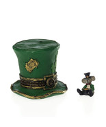 """Boyds Bears Treasure Box """"Lucky's Top Hat w/Paddy McNibble"""" #4026264-1E-... - $23.99"""
