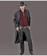 EXCELLENT MEN'S BILLY THE KID OUTLAW COWBOY COSTUME LG - $210.00