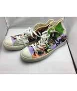 """Converse  """"Reservoir Dogs"""" hand painted sneakers by Ponko - size 9.5 - $297.00"""