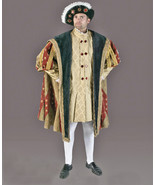 SIZE XL MEN'S KING HENRY Vlll TUDOR MEDIEVAL HALLOWEEN COSTUME.  RENAISS... - $550.00