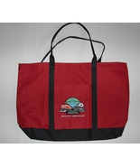 Large Great Smoky Mountains Railroad Tote Bag, Embroidered Logo NEW - $5.99