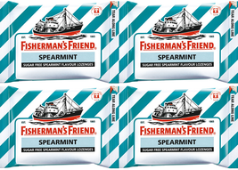 25g X 4 Fisherman's Friend Sugar Free Original ... - $9.00