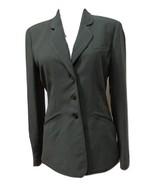 NWT - $179.00 - ANNE KLEIN Olive Polyester/Acetate Blend 3 Button Jacket... - $37.39