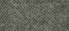 Snow Cream Herringbone 16x26 (1096) 100% wool fabric hand dyed Weeks Dye Works  - $25.20