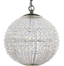 "AM8844:  Crystorama ""Newbury"" Crystal Chandelier  (1-2 Pcs; 16""-24"" W ) $1,180+ - $1,180.00"