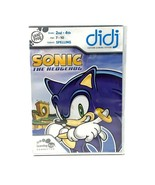 Sonic the Hedgehog Leap Frog Game Didj Children Educational Spelling New - $13.78