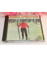 Merry Christmas Johnny Mathis 12 Tracks Christmas Music CD Gently Used - $12.99