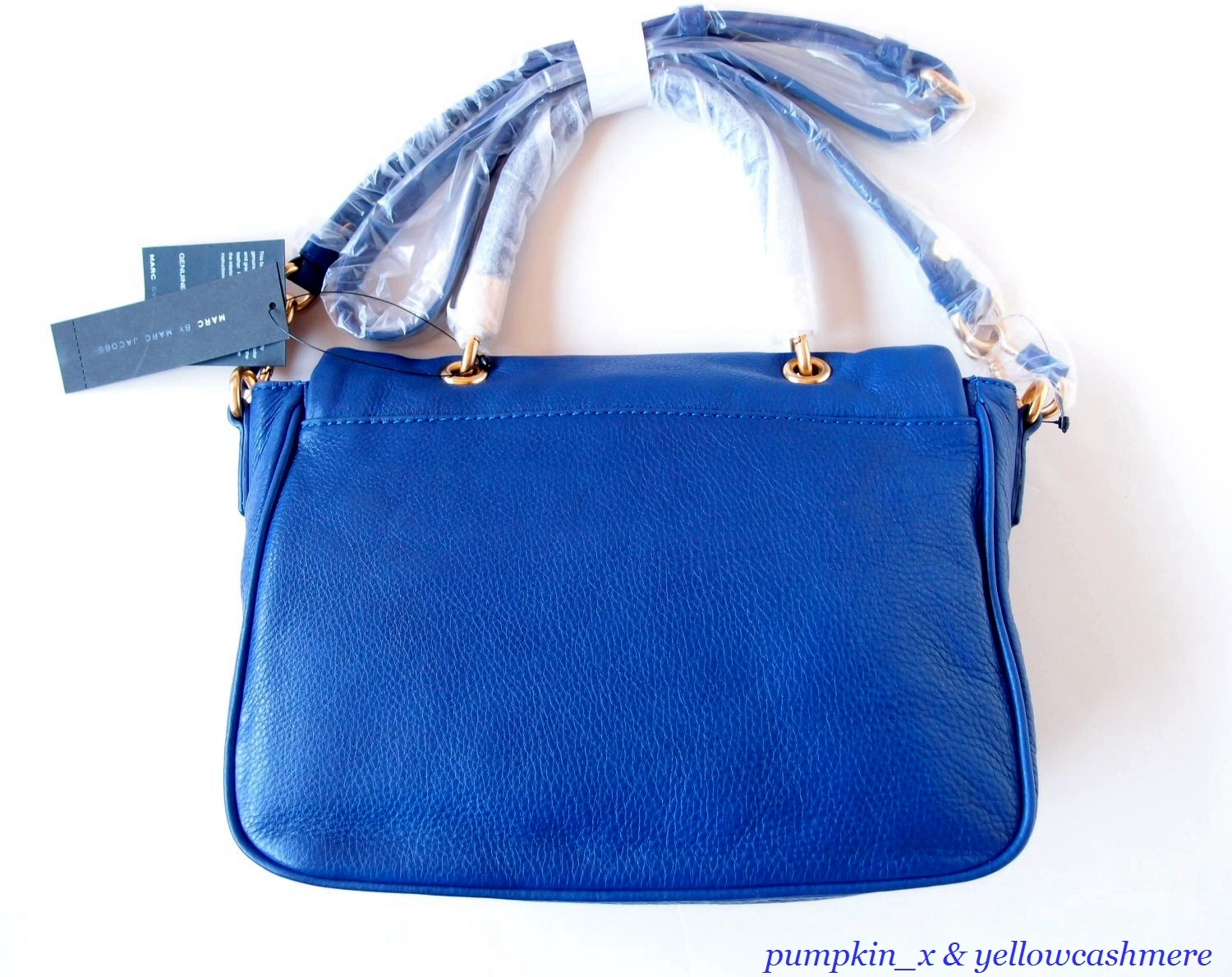 NWT MARC by MARC JACOBS 'Too Hot to Handle' Top Handle Satchel BAUHAUS BLUE $428