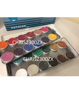 Kryolan Aquacolor - 24 Color Makeup Palette Kit 1108AC for Face and Body... - $189.99