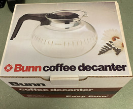 """Bunn Genuine Coffee Decanter Pot Carafe """"Easy Pour"""" New Old-Stock in box... - $24.70"""