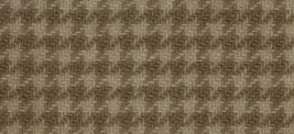 Parchment Houndstooth 16x13 (1110) 100% wool fabric hand dyed Weeks Dye Works  - $12.60