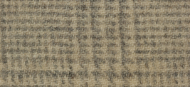 Parchment Glen Plaid 16x13 (1110) 100% wool fabric hand dyed Weeks Dye Works  - $12.60