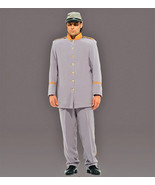 MEN'S CIVIL WAR CONFEDERATE SOLDIER COSTUME UNIFORM MED - $169.95