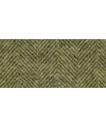 Banana Popsicle Herringbone 8x12 (1115) 100% wool hand dyed Weeks Dye Wo... - $6.50