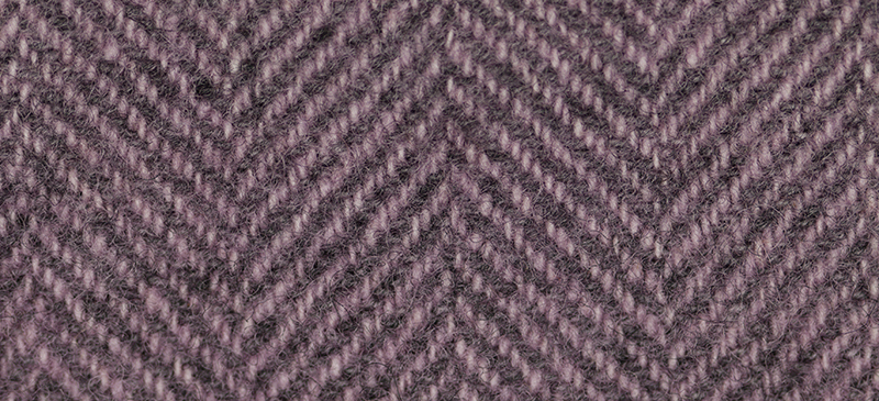 Rose Quartz Herringbone 16x13 (1137) 100% wool fabric hand dyed Weeks Dye Works  - $12.60