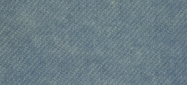 Blue Heron Solid 16x13 (1155) 100% wool fabric hand dyed Weeks Dye Works  - $10.80