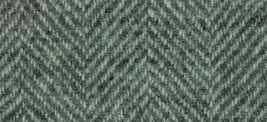 Seafoam Herringbone 16x13 (1166) 100% wool fabric hand dyed Weeks Dye Works  - $12.60