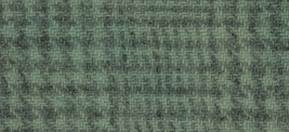 Seafoam Glen Plaid 16x13 (1166) 100% wool fabric hand dyed Weeks Dye Works - $12.60