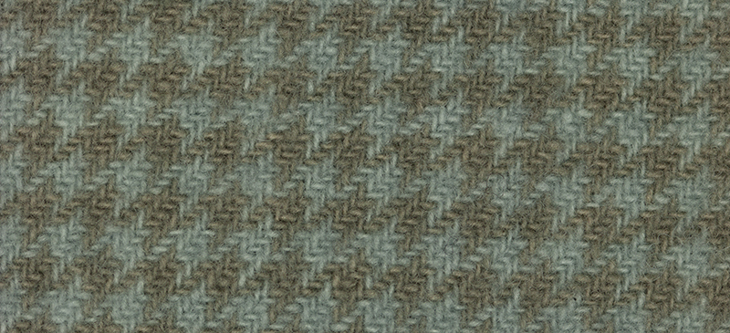 Primary image for Dove Houndstooth 16x26 (1171) 100% wool hand dyed Weeks Dye Works