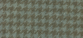 Dove Houndstooth 8x12 (1171) 100% wool hand dyed Weeks Dye Works  - $6.50