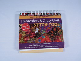 Embroidery & Crazy Stitch Tool by Judith Baker ... - $22.95