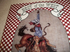 Best of the West Counted Cross Stitch Charts - $12.00