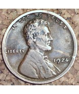 1924 Lincoln Wheat Cent - Nice Details - $1.19