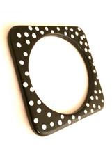 Polka Dots Black White Modernist MOD Hand Painted Bracelet Bangle Vintag... - $20.00