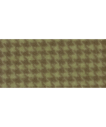 Birch Houndstooth 8x12 (1197) 100% wool hand dy... - $6.50