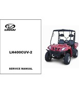 Linhai LH400CUV-2 Bighorn 400 CUV 4X4 Repair Service Workshop Manual CD - $12.00