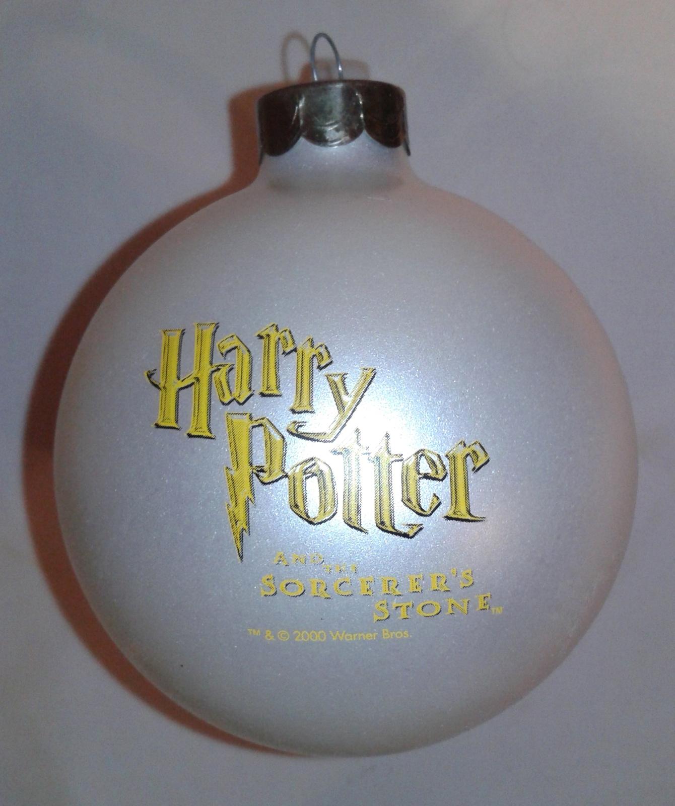 Harry Potter 2000 GLASS Christmas Ball KURT S ADLER Tree