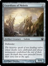 Magic The Gathering-Theros-Guardians of Meletis - $0.15