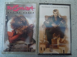 Rod Stewart A Spanner in the Works & Out of Order Cassette Tapes - $4.99