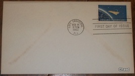 Project Mercury First Day Cover 1962 - $10.00