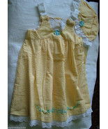 NWT Little Bitty, Girls Dress & Hat, Yellow Color, Sz.5 - $17.81