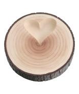 Rustic Tree Trunk Wedding Ring Holder Ring Pill... - $29.98