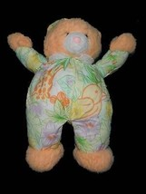 Applause VTG Orange Cat Plush Floral Outfit Bird Plush Stuffed Animal 17... - $29.69