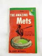 VINTAGE 1964~AMAZING METS~JERRY MITCHELL~ SHEA STADIUM~WILLARD MULLIN CA... - $9.89
