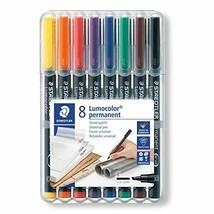 *Staedtler oil-based pen Rumokara bold writing 8-color 314 WP8 - $29.36
