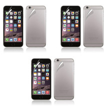 3X Front Back Clear Crystal Transparent Screen Protector For Apple iPhon... - $6.99