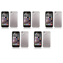 5X Front Back Clear Crystal Transparent Screen Protector For Apple iPhon... - $7.99
