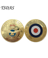 USA Royal Air Force Challenge Military Gold Plated Coin United States Coins - $5.50
