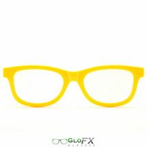 GloFX Standard Diffraction Glasses – Yellow for DJ Robot EDC Rave Costum... - $9.90