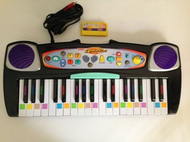 Fisher Price I CAN PLAY PIANO LEARNING SYSTEM TV Learning Game & Game Ca... - $29.02