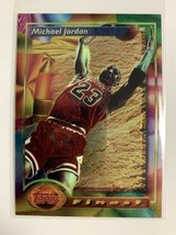 1993-94 Topps Finest #1 Michael Jordan Chicago Bulls A - $113.95