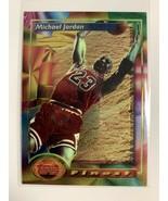 1993-94 Topps Finest #1 Michael Jordan Chicago Bulls A - $113.95